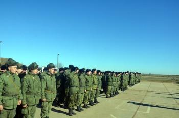 Священники УПЦ освятили боевую технику и благословили на ратные подвиги российских военнослужащих в Крыму