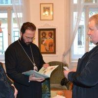 Ректор Ужгородської богословської академії обговорив з митрополитом Константинопольського Патріархату підготовку кадрів для приходів Західної Європи
