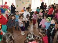 Первый Украинский батальон военных капелланов провел в Харькове детский праздник для беженцев