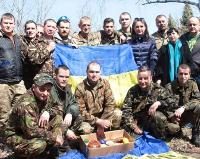 Військові священики УПЦ КП освячували паски та військову техніку АТО