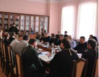В академії УПЦ КП відбувся захист дисертацій з автокефалії, апологетики і православно-католицьких відносин