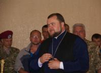 Єпископ УПЦ КП провідав учасників АТО