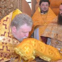 Архімандрит Віктор (Бедь) відслужив першу літургію в якості глави Карпатської єпархії УАПЦ