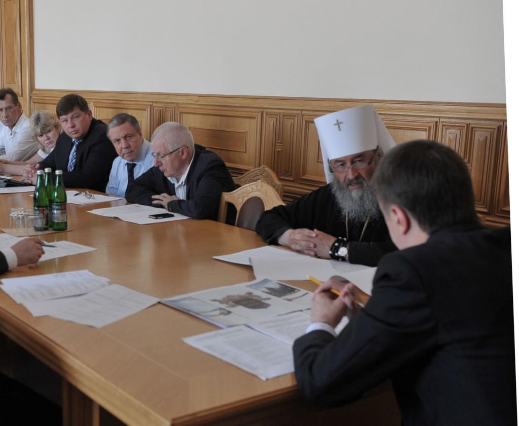 Відбулося засідання оргкомітету при Мінкультури з вшанування 1000-ліття преставлення князя Володимира