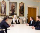 Патріарх Філарет обговорив з президентом Європейського економічного і соціального комітету ситуацію в Україні