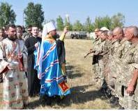 Патріарший намісник УПЦ КП відвідав зону АТО