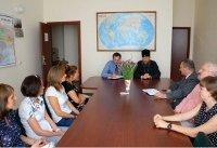 Керуючий справами УПЦ і співробітники Департаменту у справах релігій намітили шляхи співпраці