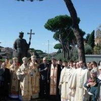 У Римі відкрили пам'ятник князю Володимиру Великому