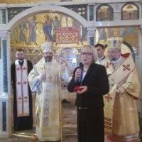 Глава УГКЦ вручив послу України при Ватикані медаль митрополита Андрея Шептицького