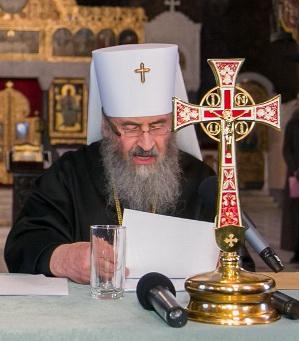 Митрополит Онуфрий выступил против украинского языка в богослужении