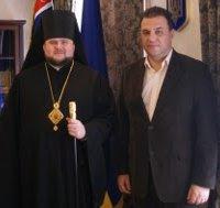 Єпископ УПЦ КП домовився про співпрацю з головою Закарпатської облради