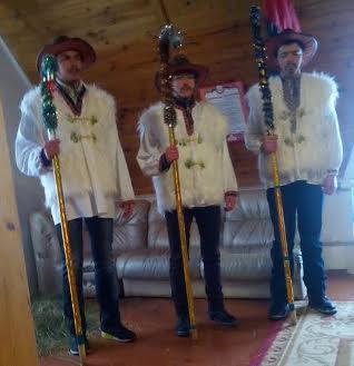 Народився Бог на санях, в селі на Донбасі