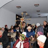 У Харкові католики разом з православними влаштували різдвяний вертеп, з яким вирушили на фронт