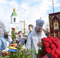 Митрополит Онуфрій вшанував пам'ять загиблих українських воїнів