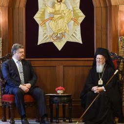 Вселенський Патріарх — Президенту України: «Церква Константинополя є материнською для українців»