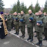 Архієреї та священики УПЦ привітали Нацгвардію з професійним святом