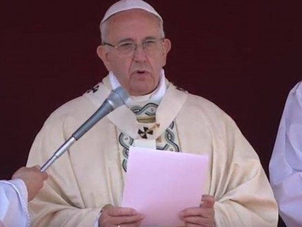 Франциск оголосив загальноєвропейську гуманітарну ініціативу для України