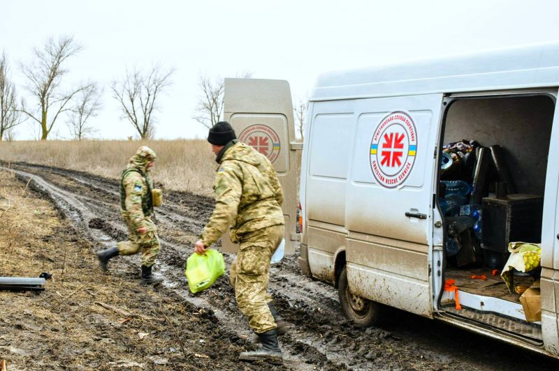 В Україні заснована Християнська служба порятунку в зоні АТО