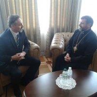 Глава УГКЦ обговорив з послом Чехії суспільно-політичне становище України