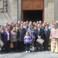 Священики УПЦ КП і Константинополя відкрили перший в Європі пам'ятник героям Небесної сотні