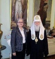 Патріарх Філарет розповів послу Австрії про сучасний стан православ'я в Україні