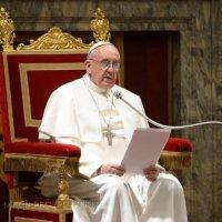 Папа привітав чорнобильців з України та пригадав про збірку для гуманітарних потреб України