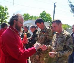 Церкви влаштували великодні заходи для військовослужбовців, мешканців зони АТО і переселенців