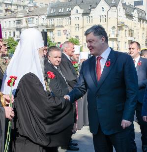 Церковні ієрархи і керівництво країни відзначили День перемоги