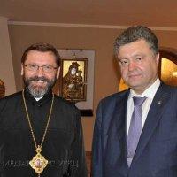 Президент України привітав главу УГКЦ з днем народження
