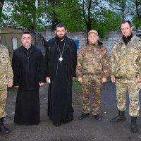 Архієпископ УАПЦ відвідав зону АТО