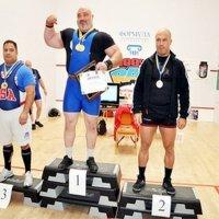 Одеський священик виборов дві золоті медалі на чемпіонаті України з пауерліфтингу