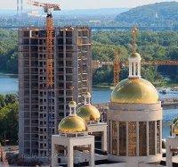 Будівництво, яке руйнувало патріарший собор УГКЦ в Києві, знову зупинили