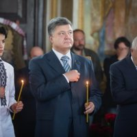 Президент взяв участь у панахиді по Тарасу Шевченку