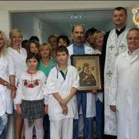 Священик УГКЦ освятив нове відділення дитячої травматології Києва