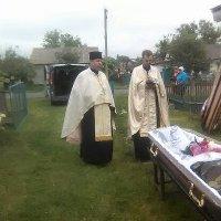 Священики УАПЦ відслужили чин похорону військовослужбовця-донбасівця