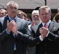 УПЦ освятила памятник «вежливым людям», захватившим Крым