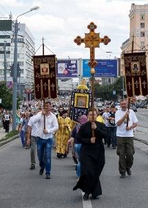 Процесія, проща, хресна хода як форми зовнішньої релігійної активності