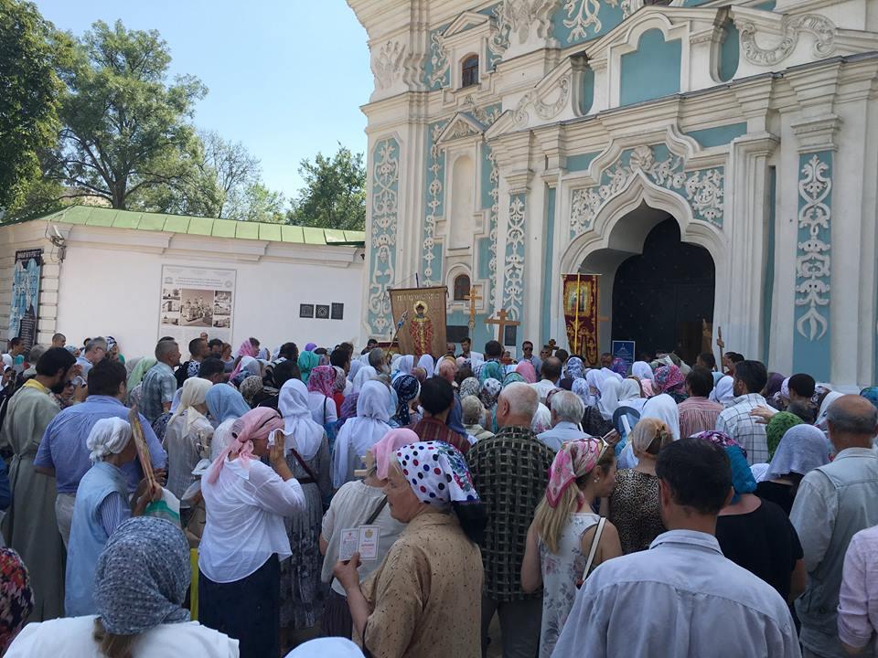 УПЦ отмежевалась от резонансной акции своих верующих на Софийской площади