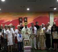 Архієпископ УПЦ КП звершив літургію в Угорщині