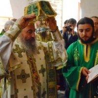 Глава УПЦ освятив на Афоні храм на честь засновника чернецтва на Русі