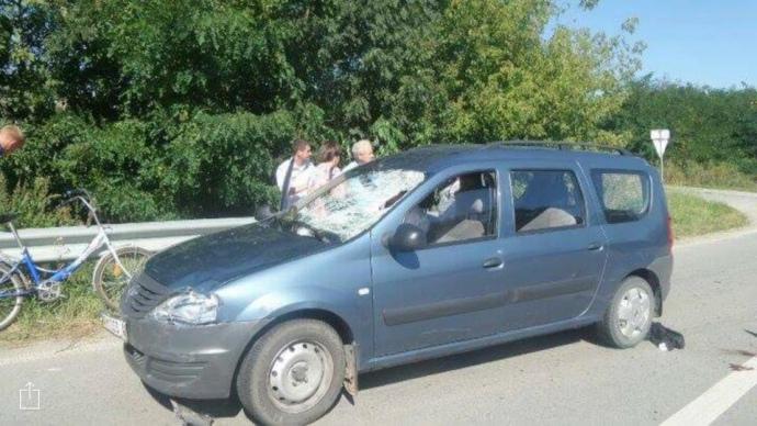 На Житомирському шосе священик УПЦ насмерть збив дитину