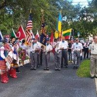 На українській церкві у США відкрили меморіальну дошку військовим АТО