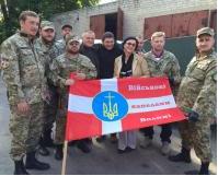 Група військових священиків УПЦ КП відвідала зону АТО
