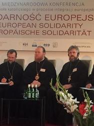 Спікери УПЦ КП і УПЦ (МП) дійшли згоди на міжнародній конференції «Європейська солідарність»