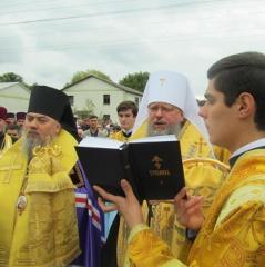 Впервые митрополиты УПЦ Киевского и Московского Патриархатов вместе служили на Буковине