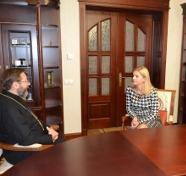 Глава УГКЦ розповів послу Словенії про антикорупційну діяльність Церкви