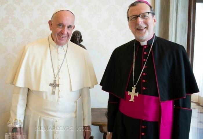 Папа Франциск зібрав для українців 10 млн євро. Гроші розподілятиме запорізький єпископ