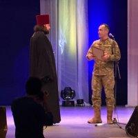 Священик УПЦ отримав відзнаку від військових АТО