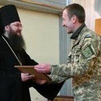 Єпископ УПЦ відзначив нагородами особовий склад Київського військкомату