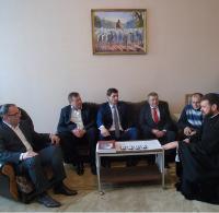 Єпископ УПЦ КП обговорив співпрацю з очільниками Івано-Франківщини
